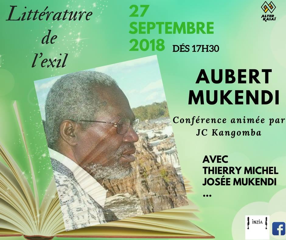 Littérature de l'exil consacrée à Aubert Mukendi